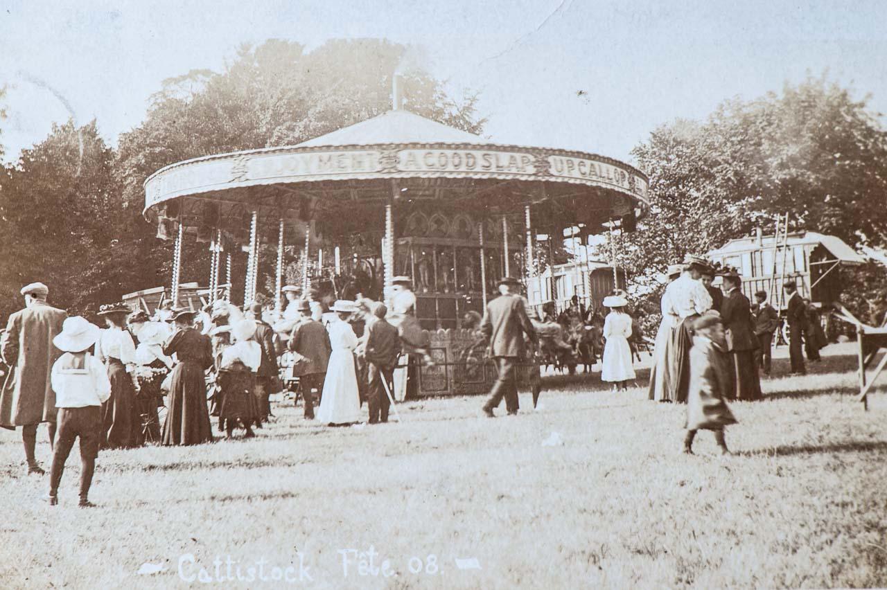 The Carousel c 1908