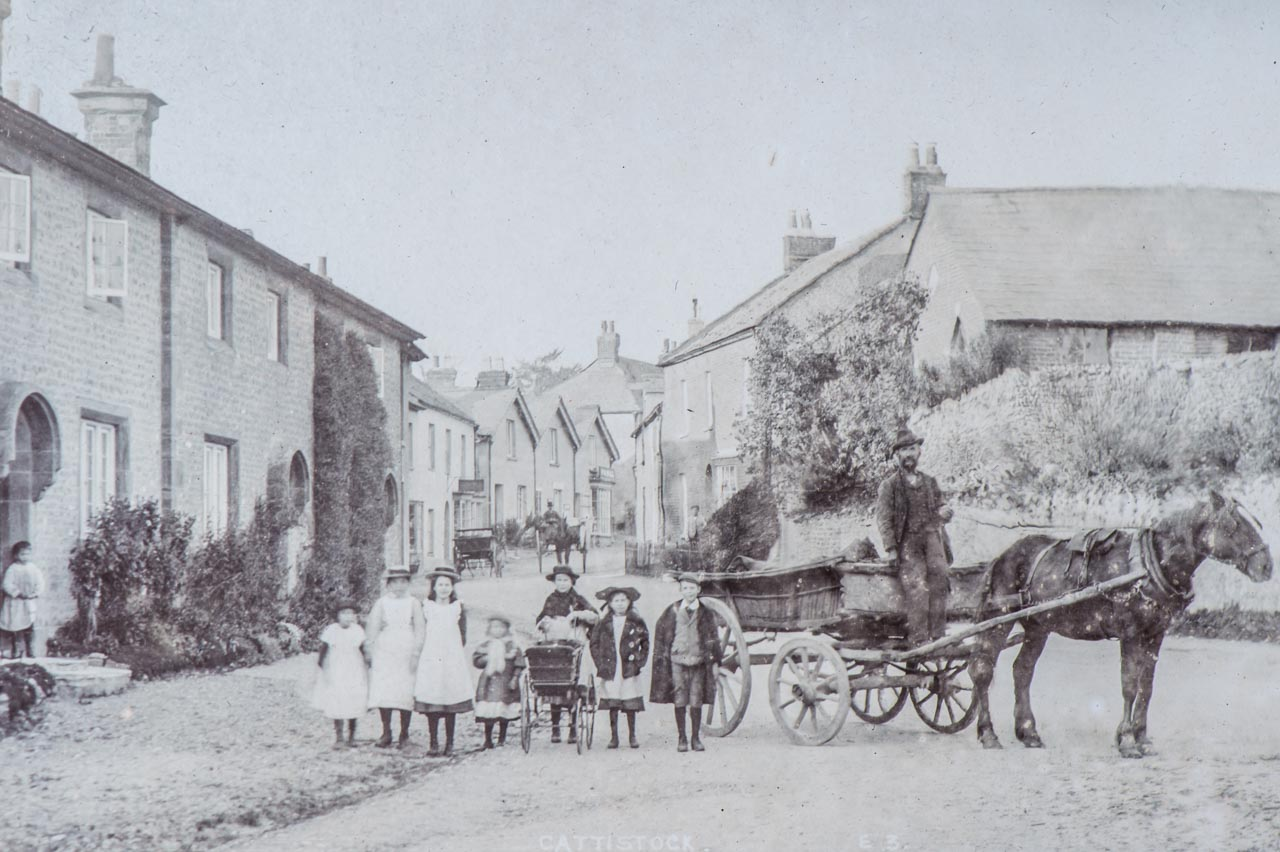 Transport by Horse and Cart c1906