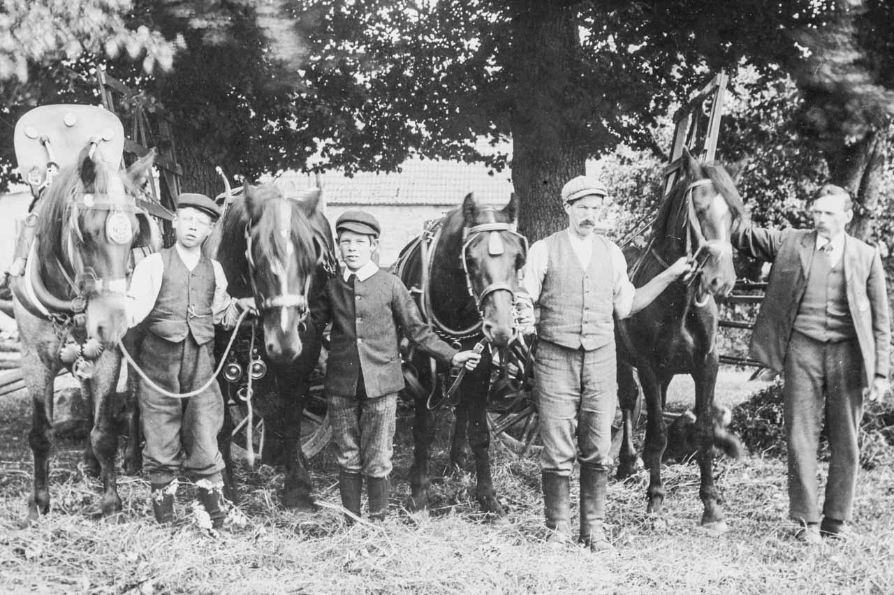 Farm hands c1906