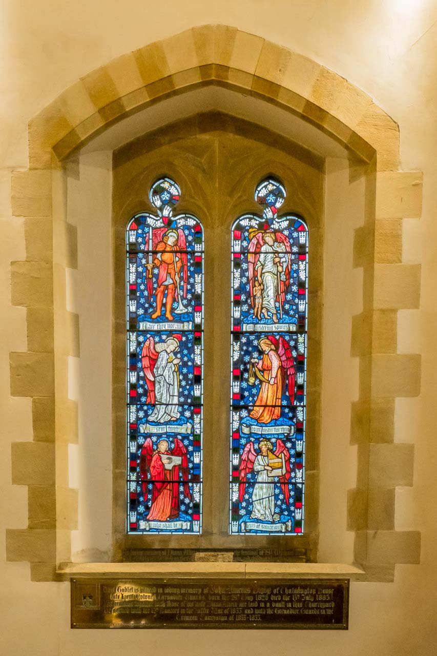 The William Morris Window, installed in 1882