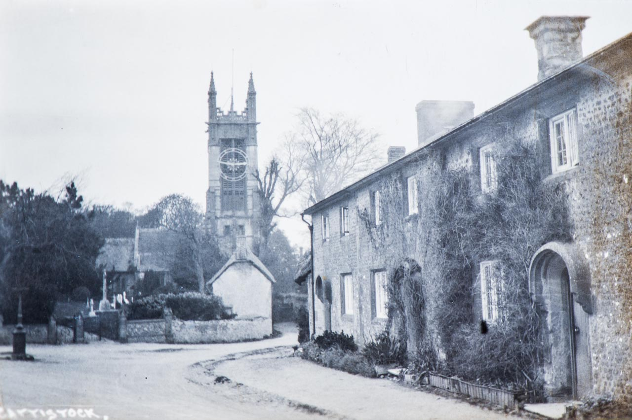 View of the Church c1922