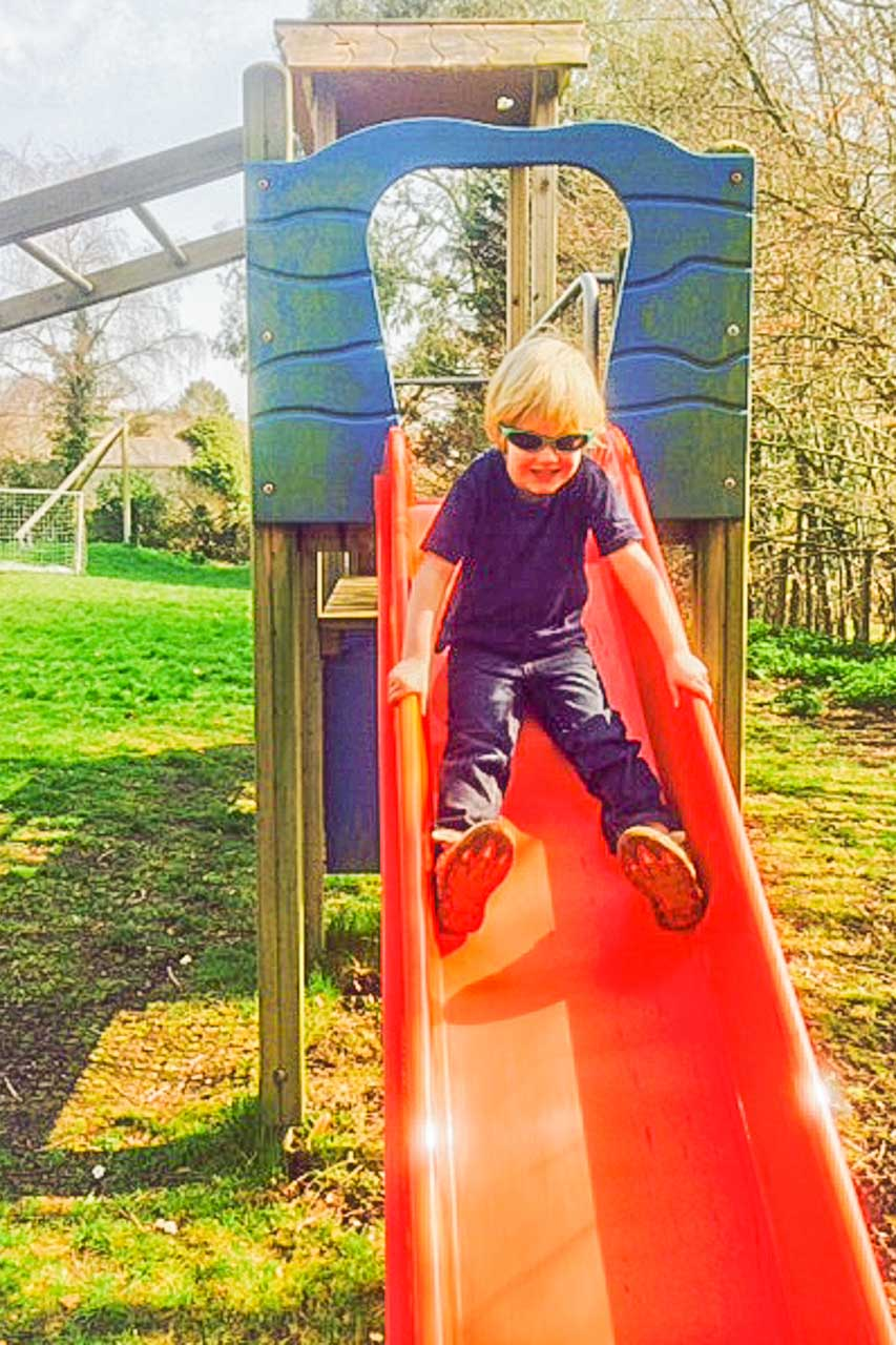A sunny day on the Slide
