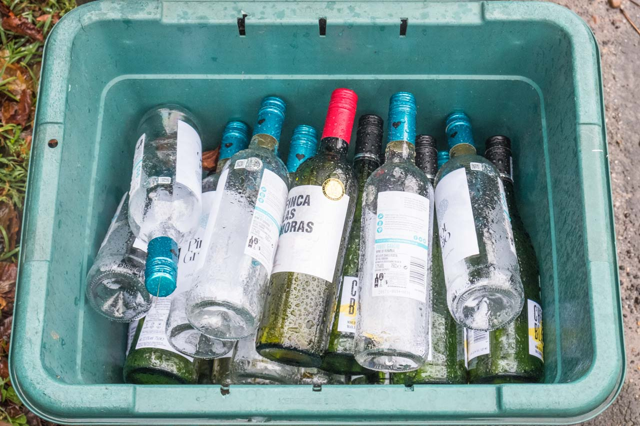 Glass bottles, a positive contribution to recycling