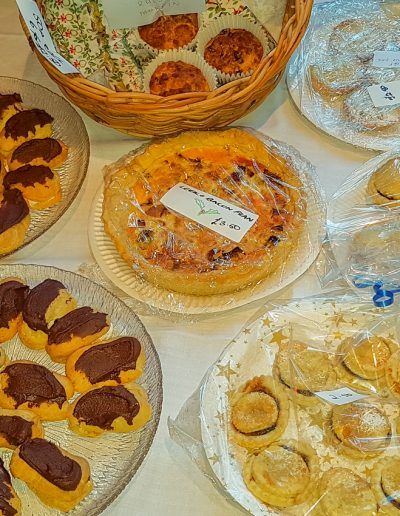 A sample of the delicious cakes on sale
