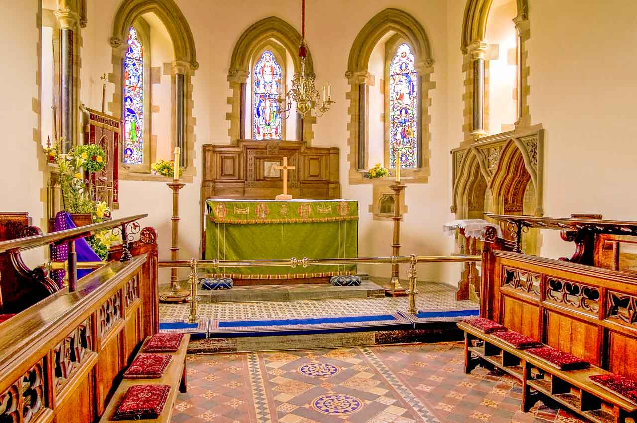 The Chancel of St Peter & St Paul