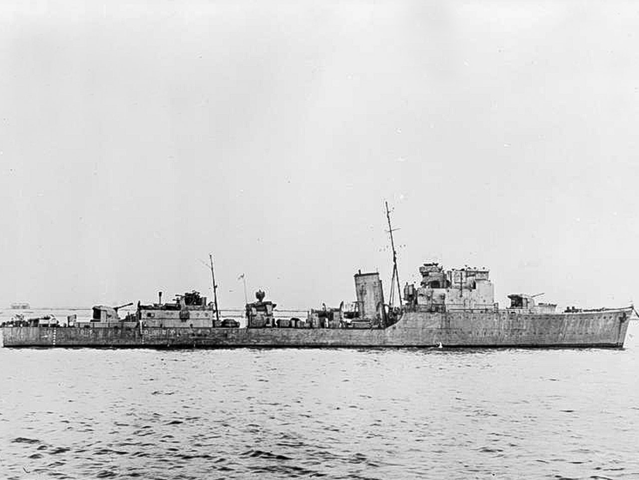 The 1st HMS CATTISTOCK Minesweeper