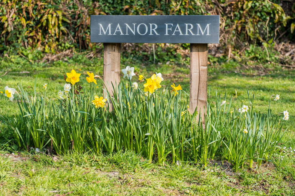 The entrance to Manor Farm