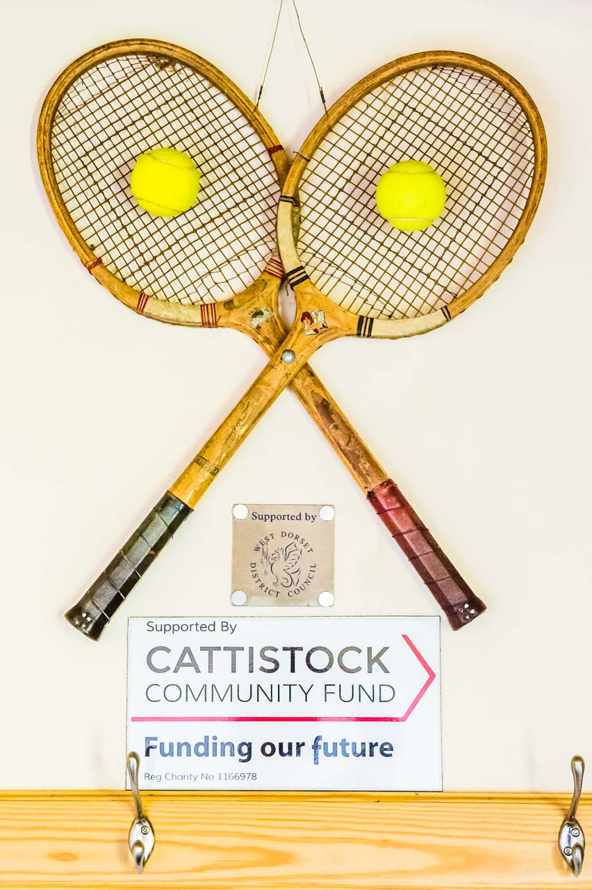Like so many local causes, the Cattistock Tennis Club have received significant funding from the Cattistock Community Fund