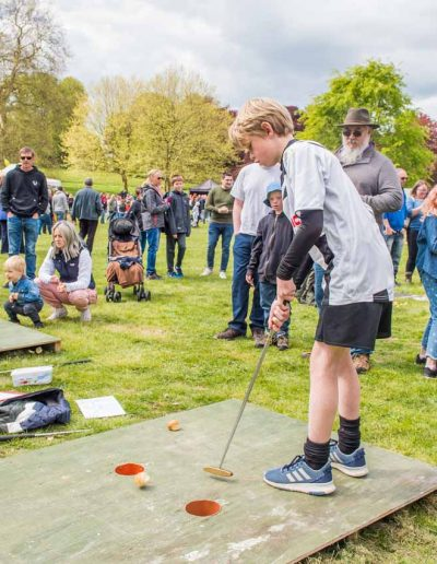 Putt the Knob is popular with all ages