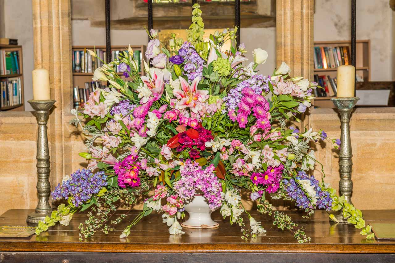 Gardens Open Day 2019 Flower arrangements 2