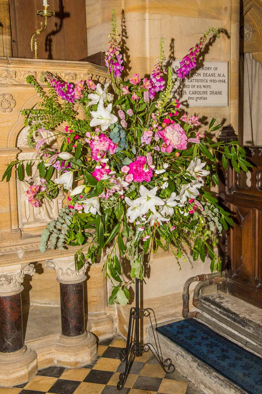 Gardens Open Day 2019 Flower arrangements 1