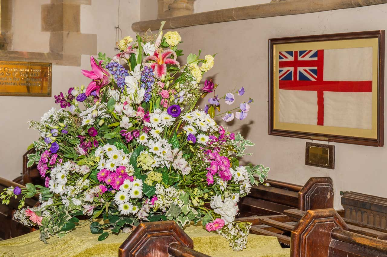 Gardens Open Day 2019 Flower arrangements 4