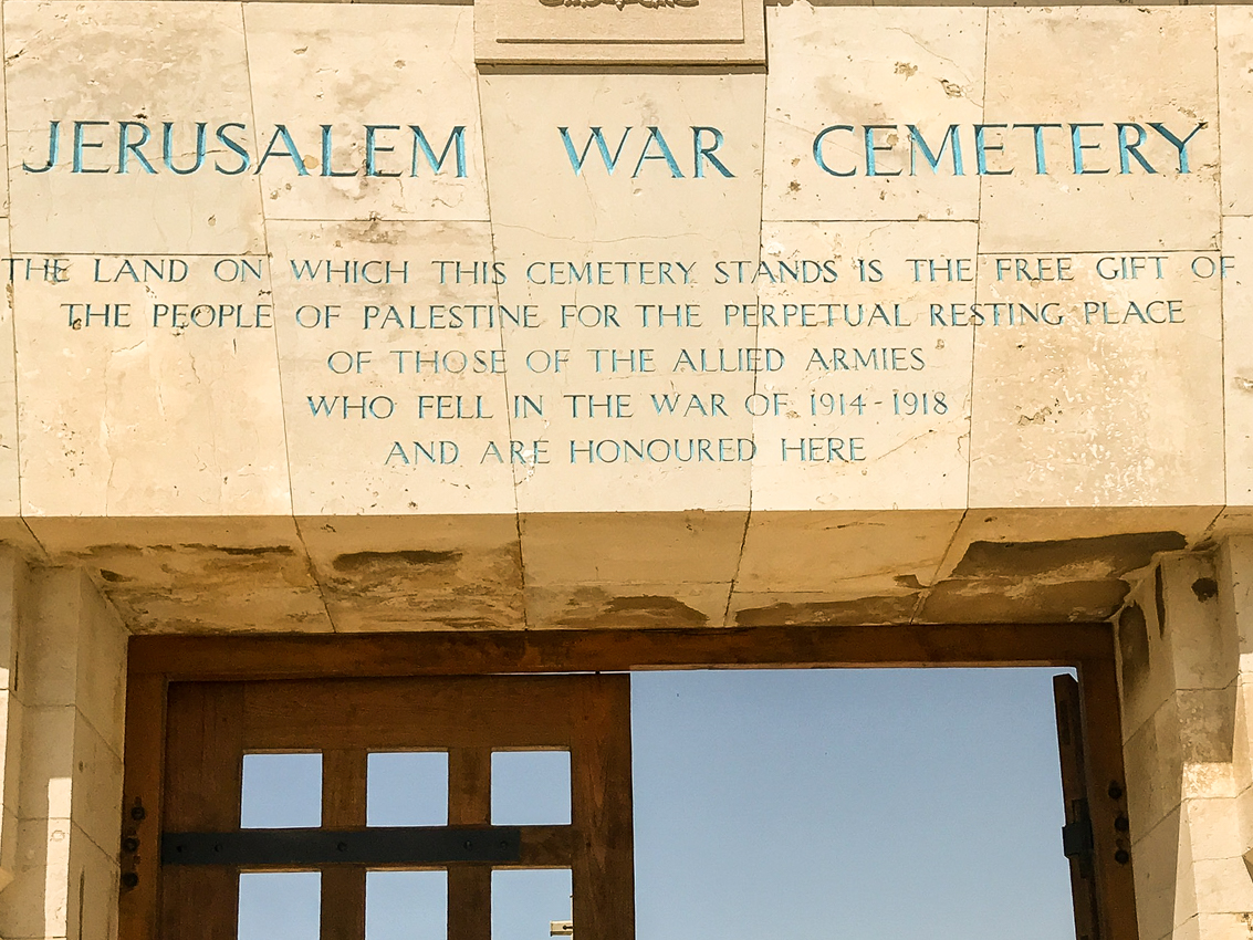 The Jerusalem War Cemetery