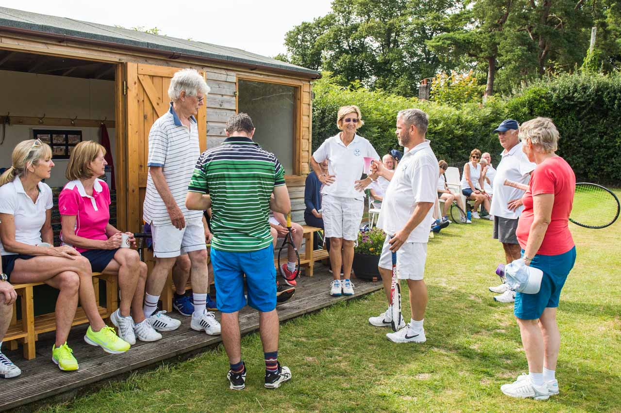A great time was had by all during a friendly tournament with Beaminster