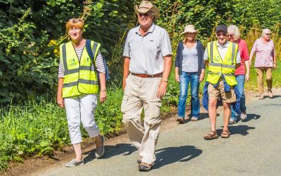 Good News – 'Walking for Health' group walks in Maiden Newton & Cattistock have restarted
