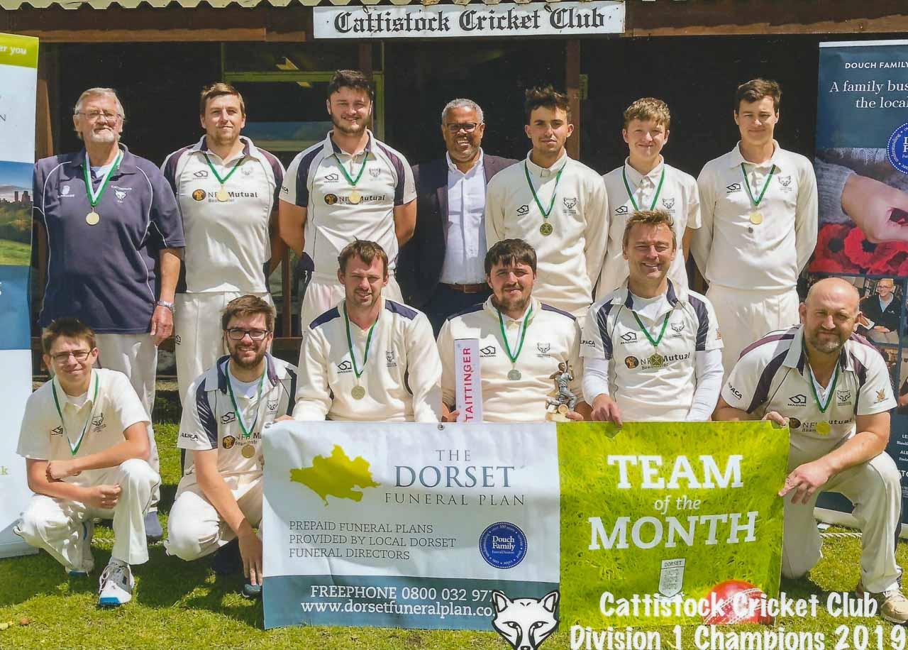 Cattistock Cricket Club, Division 1 Champions 2019