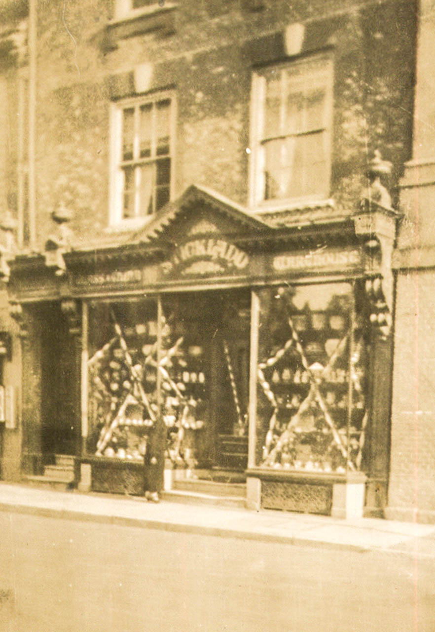 Sticklands' China shop in Blandford