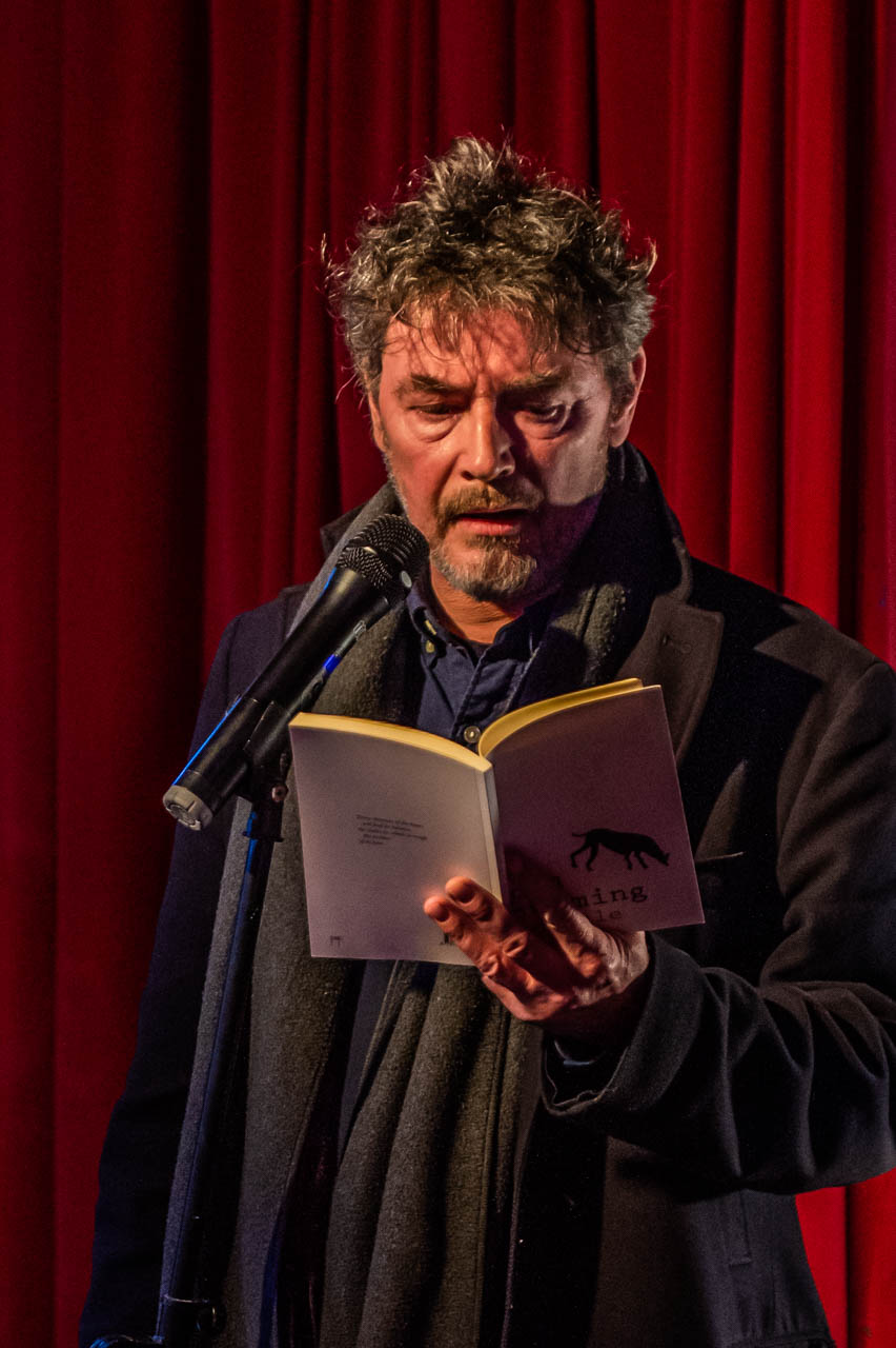 Tim Cumming reading his poem 'Saturn'
