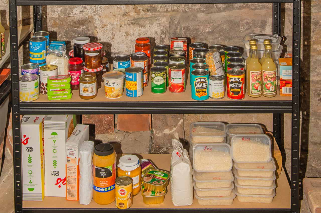 A selection of the produce available from the Food Bank