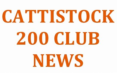 Cattistock 200 Club – May Winners.