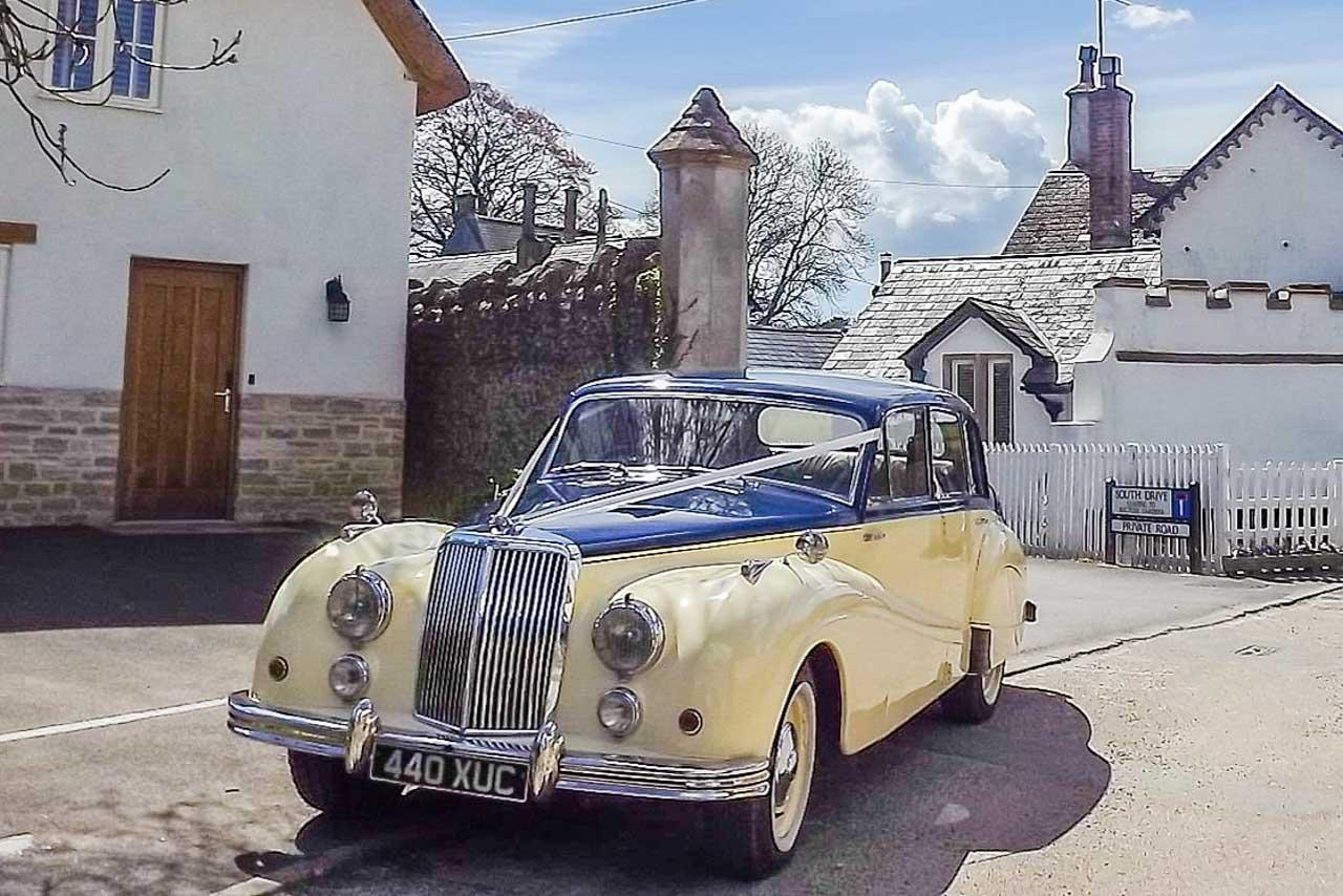 Herbie's photos: a local Armstrong Siddeley wedding car
