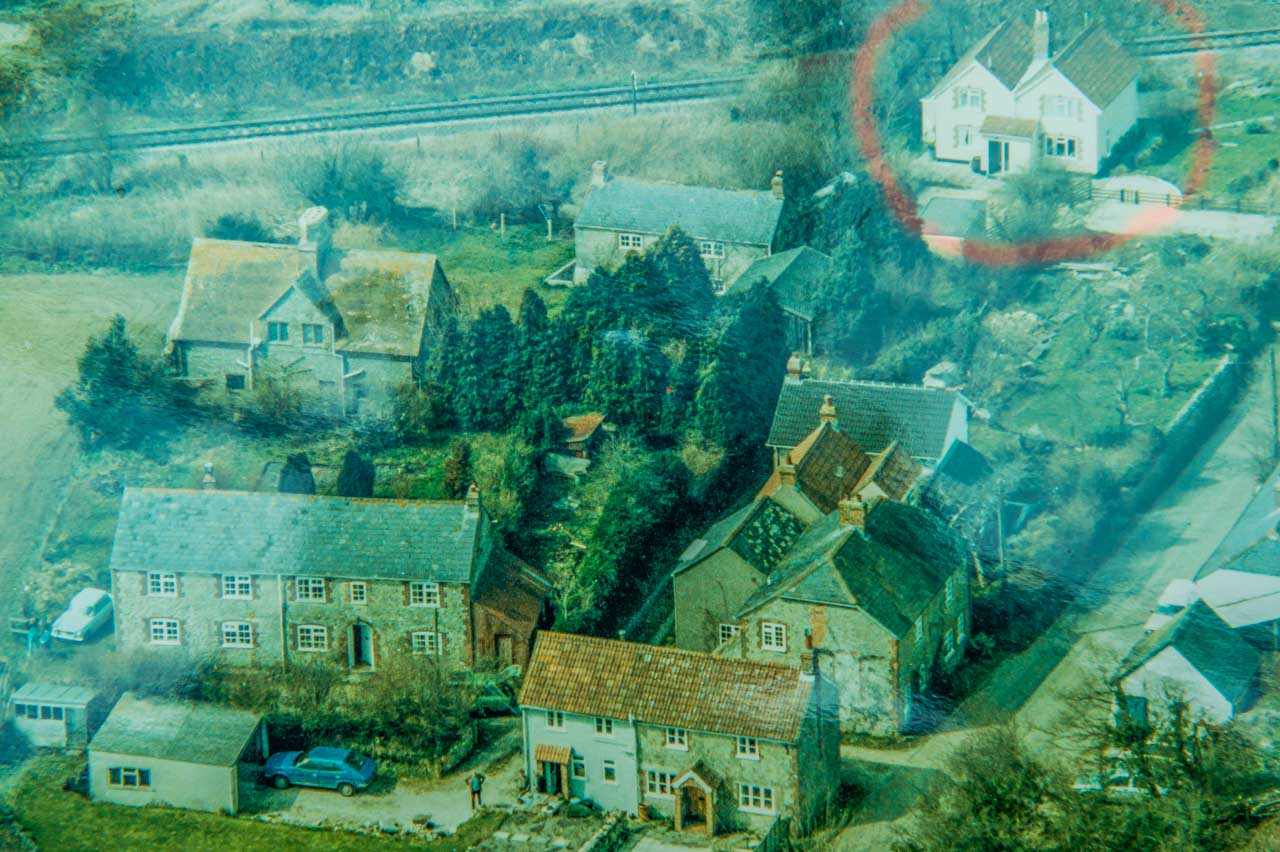 The ringed property is Well Cottage, after the initial improvements by Mr and Mrs Goeting