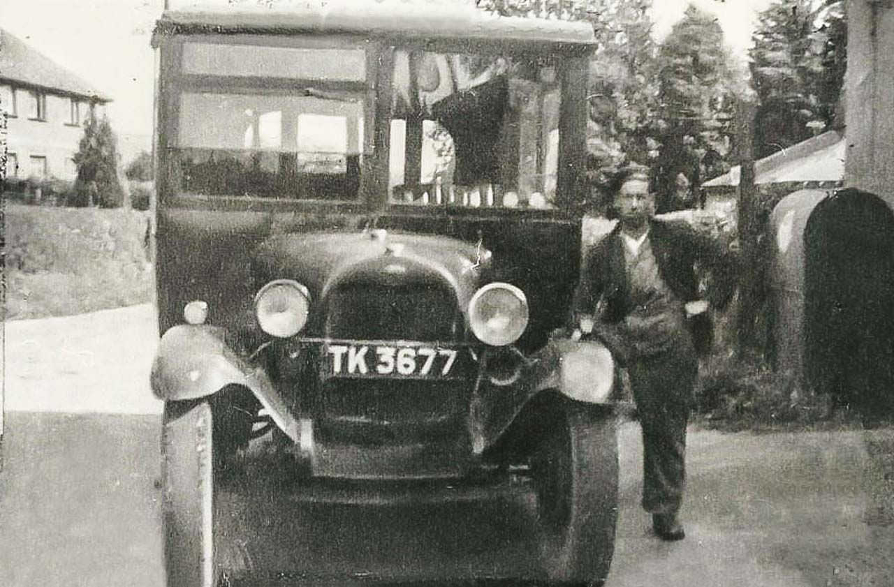 A 1929 Ford - photographed in the late 1930's