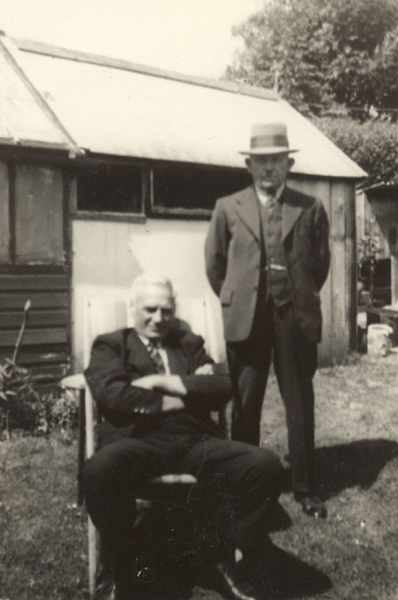 George and Albie circa 1945/47