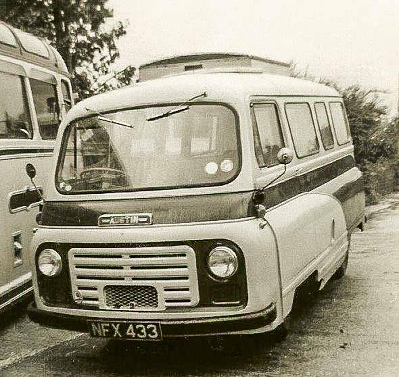 Hazel took her test in this Austin minibus in 1962 (photo © R Grimley)