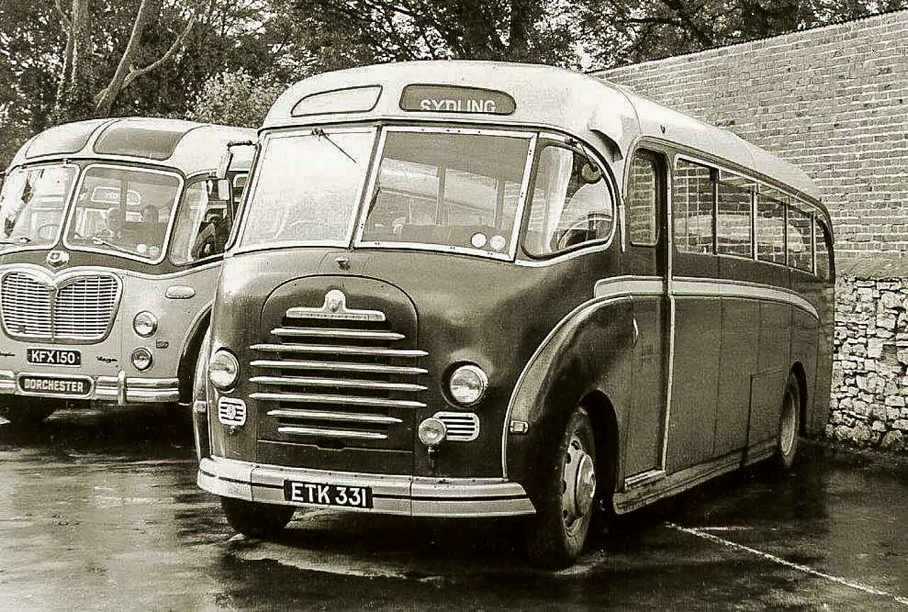 Typical scene in the Council Yard Dorchester in the late 50's or early 60's (photo © R Grimley)