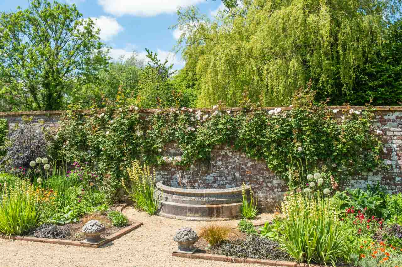1.Sue and David: The fountain in the Long border