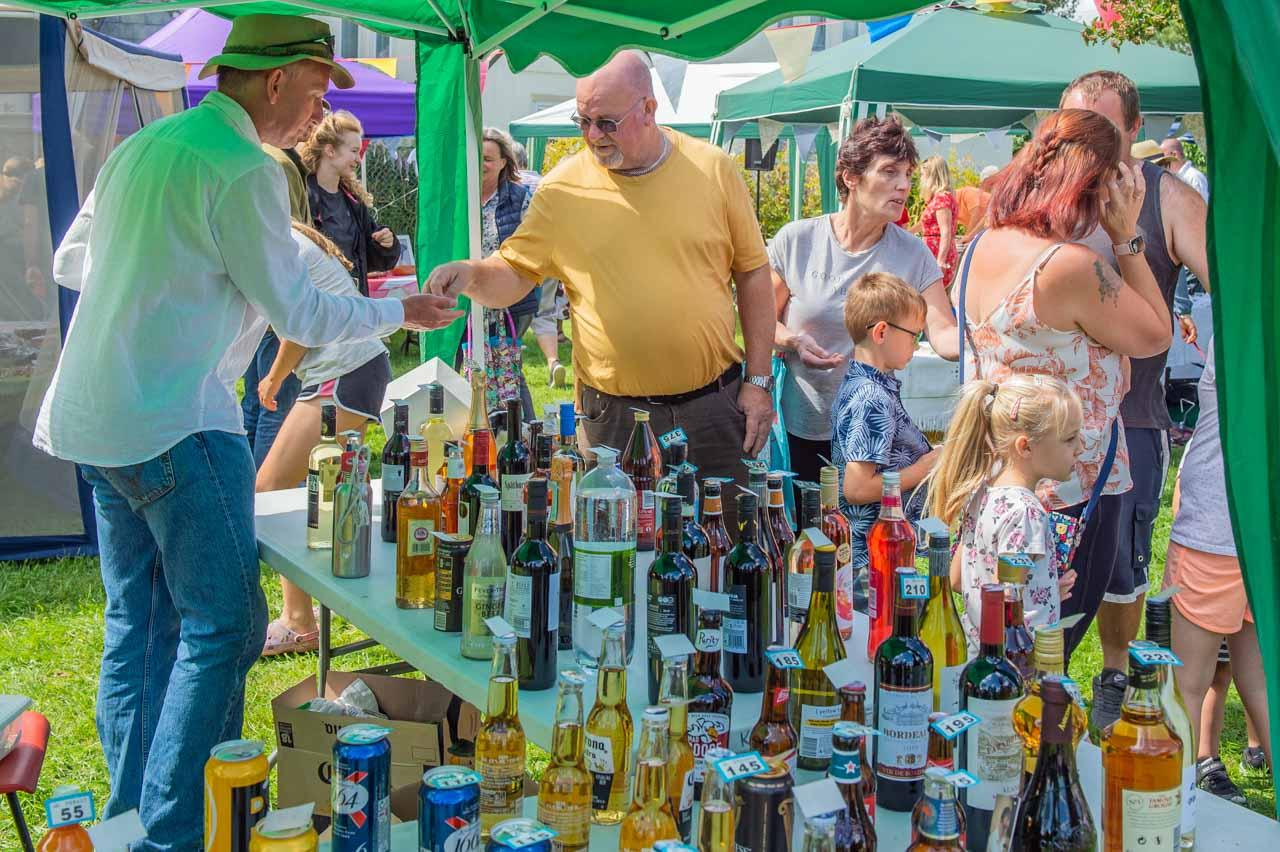 Another busy year for Simon on his tombola